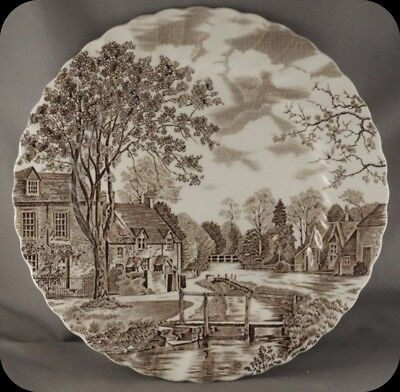 Johnson Bros Brothers Cotswold Brown Dinner  Plate