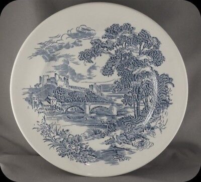 Wedgwood Enoch Tunstall Countryside Blue Dinner Plate (two available)
