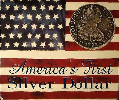 AMERICA'S FIRST SILVER DOLLAR - 8 EIGHT REALES SEALED 1772 - 1821 Mexico Spain