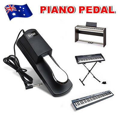Sustain Piano Pedal Foot Switch Damper for Keyboard Yamaha Casio Roland Korg New