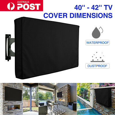 42 Inch Waterproof Television Cover, Outdoor TV Cover