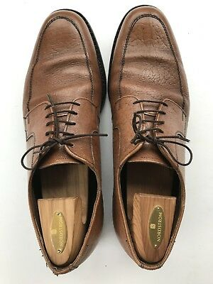 ba99494cfeea8 DACK'S EXOTIC RARE Camel Skin Leather Derby Oxford Shoes Mens Size 11.5 - 12