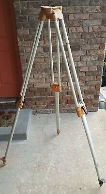 David White Surveyor Level Tripod Aluminum Packable