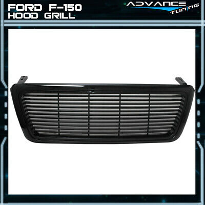 Fit For 04-08 Ford F-150 1Pc Black Sport Grille F150 Grill New