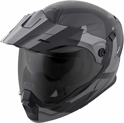 0c5db8ef Scorpion EXO-AT950 NEOCON Modular Motorcycle Helmet (Silver) Choose Size