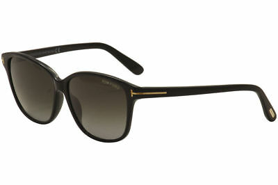 Tom Ford Women's Dana TF0432 TF/432 01B Black Fashion Sunglasses 59mm