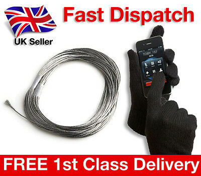 Conductive Thread 4 diy Touch Screen E Gloves iPhone Samsung Etip North Face