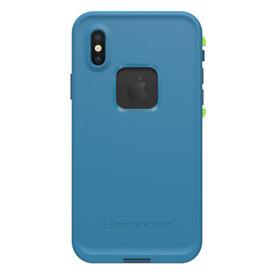 New Original Lifeproof Fre Series for iPhone X ( Banzai Blue)