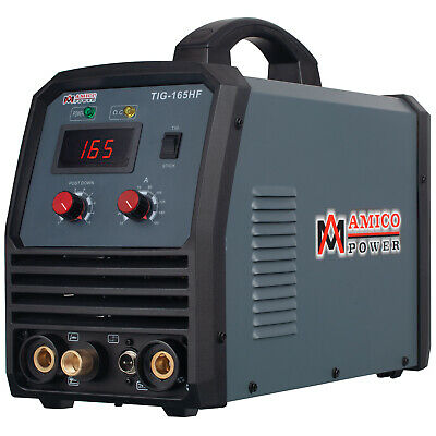 TIG-160DC 160-Amp TIG-Torch/ARC/Stick Welder 110/230V Dual Voltage Welding New
