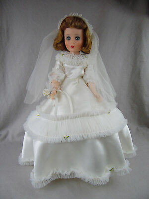 American Character 20In Sweet Sue Sophisticate W/flex Feet In Bridal Gown Euc!