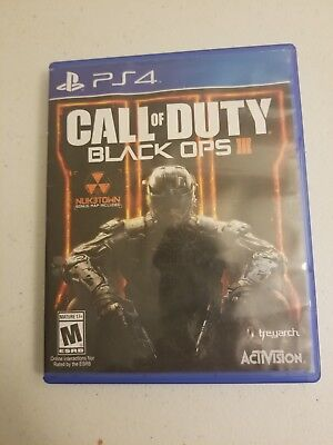Call of Duty: Black Ops 3 III PS4 (Sony PlayStation 4, 2015)