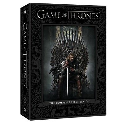 Game of Thrones: The Complete First Season Gift Box DVD, 2015, 5-Disc Set