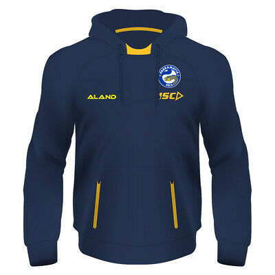 Parramatta Eels NRL 2018 Mens Squad Hoodie Top BNWT Rugby League Clothes