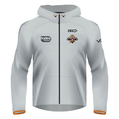 Wests Tigers NRL 2018 Mens Tech Pro Hoodie Top BNWT Rugby League Clothes