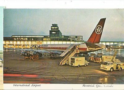Cp Avion Aerport Montreal Internationa Douglas Dc 8 Air Canada Cf-???