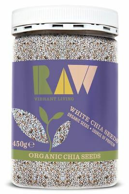 Raw Health | Organic White Chia Seeds - Omega Rich 450g