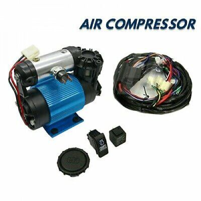 4x4 Tyrex 12v Heavy Duty Air Compressor Diff Lockers Tyre Inflator