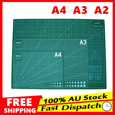 A2 A3 A4 PVC Thick Self Healing Cutting Mat Craft Quilting Art DIY Grid Lines