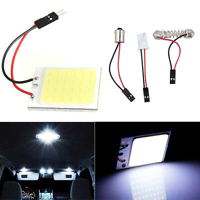 48 SMD COB LED T10 Canbus Auto Innenraum Standlicht Lampen Innenraumbeleuchtung