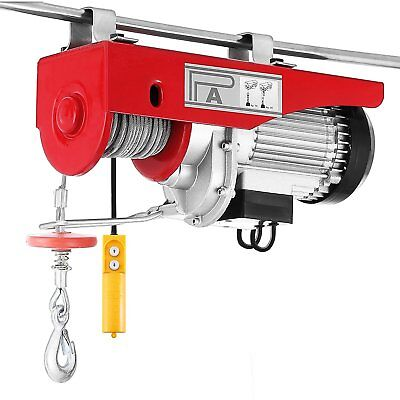 Scaffold Winch Electric Workshop Garage Gantry Hoist Lifting 250-1000KG UK STOCK