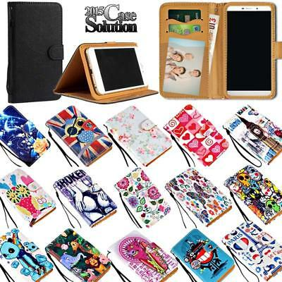 Leather Wallet Stand Magnetic Flip Case Cover For Various Wolder Wiam phones