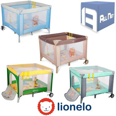 baby laufstall babybett spielstall kinder reisebett kinderbett lionelo stella eur 53 99. Black Bedroom Furniture Sets. Home Design Ideas