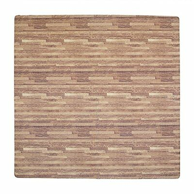 Tadpoles Wood Grain Playmat Set, Dark Oak CPMSEV831
