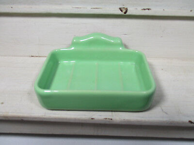 Vintage Wall Mounted Ceramic Soap Dish (1930's?)