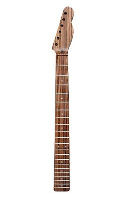 Telecaster Zebrawood Replacement Exotic Wood Guitar Neck