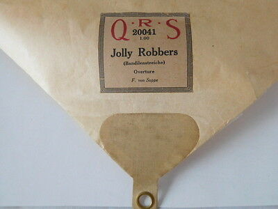Jolly Robbers  Overture  - Qrs  Player Piano Roll 20041 - Very Good Condition
