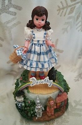 Madame Alexander doll Of Oz Dorothy Music Box we are we're of to see the wizard