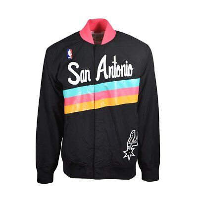New Men's NBA Mitchell & Ness Jacket - Authentic Warm Up 1994 San Antonio Spurs