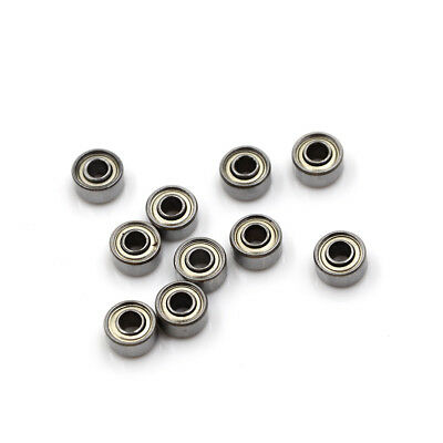 10pcs 693ZZ Carbon Miniature Ball Bearings 3*8*4mm Double Shielded Bearing PipLT