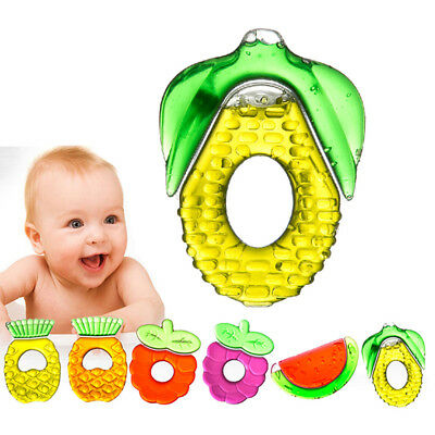 Infant Teething Ring Baby Biting Toy Kid Baby Teether Chewing Healthy Gift