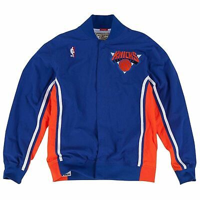 New Men's NBA Mitchell & Ness Jacket - Authentic Warm Up - 1992 New York Knicks