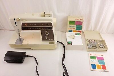 Singer Athena 1060 Sewing Machine with Foot Pedal and Accessories