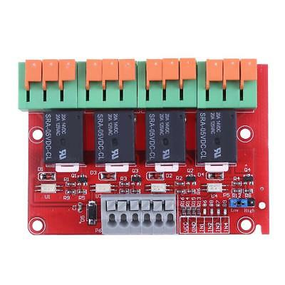 4/8 Channel 20A Relay Control Module for Arduino UNO MEGA2560 R3 Raspberry Pi
