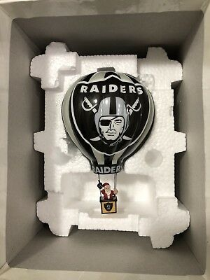 Oakland Raiders 2003 Victory Balloon - Rare Danbury Mint Ornament