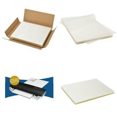 100 PCS Scotch Thermal Laminating Pouches  Count Paper Sheet Letter Size Clear