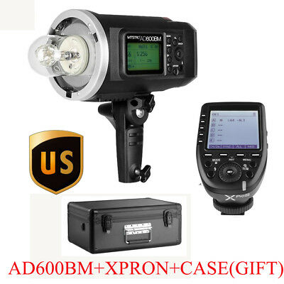 US Godox AD600BM 600W HSS Studio Flash+XPro-N 2.4G TTL Transmitter For Nikon Kit