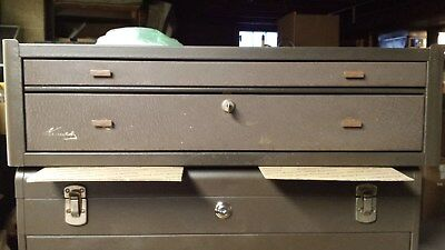Kennedy MC - 28 2 drawer machinist's tool chest base