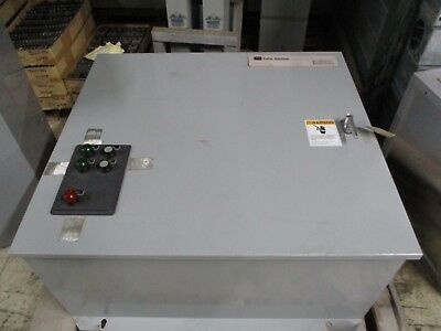 Cutler-Hammer Maintenance Bypass Switch MBHELDA30400XSU 400A 480V 3P 3PH Used
