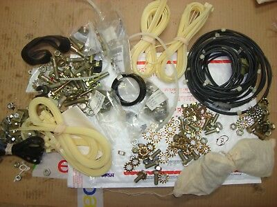 5 lbs! Military Misc. Radio Hardware Clamps Grommets Jeep Humvee Army Surplus D