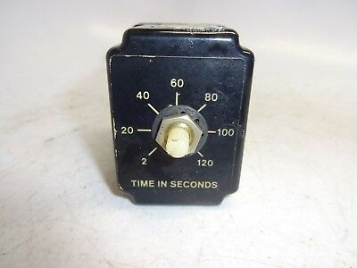 Ssac Trb120A2X120 Solid State Time Delay Relay 2-120Sec Used