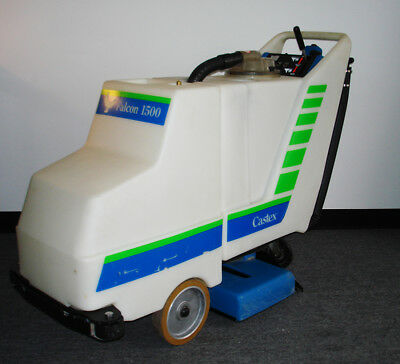 Clean, Self-Propelled, Falcon 1500 Carpet Extractor By Castex Tennant, Used, #20