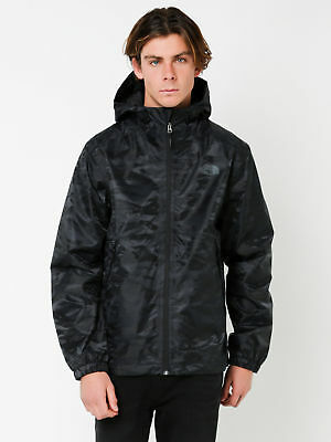New Northface Millterton Active Fit Spray Jacket In Black Camo Mens Jackets