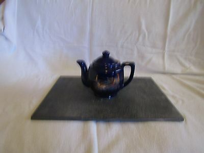 chinese cobalt blue teapot with beautiful designs