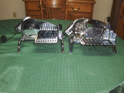 Two Rival  Electric Meat And Cheese Slicers