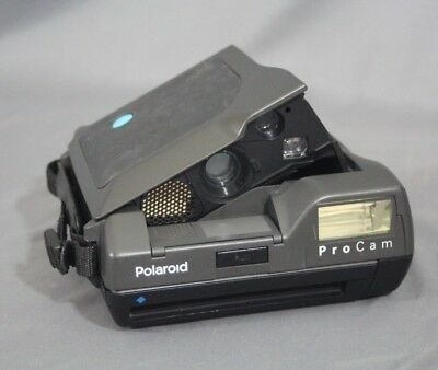 Polaroid ProCam Spectra Instant Camera with Strap - Untested - Free Shipping