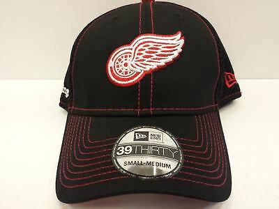 b56aaa69c62 Detroit Red Wings Cap New Era 39Thirty Stretch Fit Crux Line Neo Mesh Hat